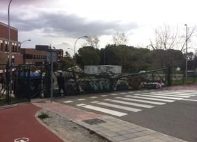 Disturbios en la UAM y en Somosaguas en la huelga de estudiantes