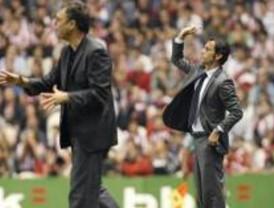 El Atlético mejoró pero perdió en San Mamés