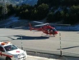 Rescatan a un joven en Navacerrada