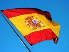 Homenaje a la bandera española en Torrejón de Ardoz