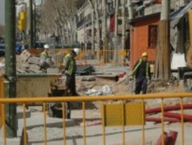 Serrano quedará libre de máquinas a mediados de mayo, excepto la zona hacia la puerta de Alcalá