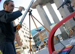 Barranco entrega los premios Tierno Galván de la IX Edición del Concurso de Pintura Rápida Plaza de Dalí
