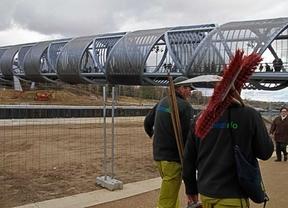 Convocada una huelga indefinida en el mantenimiento de Madrid Río