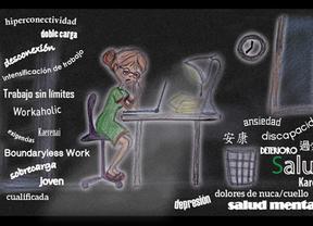 Trabajo sin límites, salud insostenible