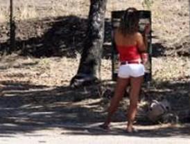 Las prostitutas de la Casa de Campo se acercan al lago