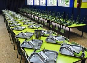 Las becas comedor volverán el próximo curso al nivel anterior a la crisis