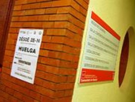 CCOO, UGT y STAG seguirán con la huelga de Justicia y se desvinculan de CSI-CSIF