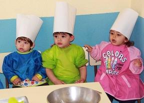 Bebés cocineros en los colegios