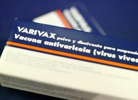 Vacuna contra la varicela Varivax (archivo)