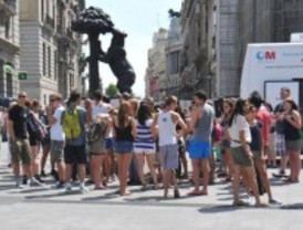El turismo internacional aumenta un 13% respecto a 2011 en Madrid