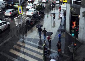 Más de 40 accidentes por la lluvia en la mañana de este martes
