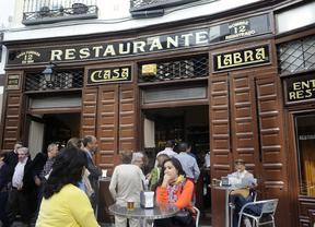 Casa Labra, la taberna donde se fundó el PSOE, en riesgo de desahucio