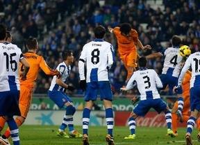 El Real Madrid gana con un gol de Pepe