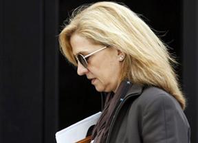 El juez Castro acusa a la Infanta Cristina de mirar