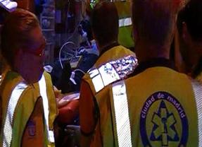 Grave tras perder el control de su moto en Vallecas