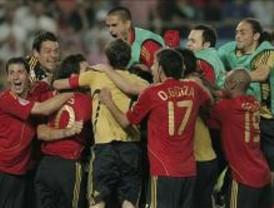 España gana a Italia en los penaltis