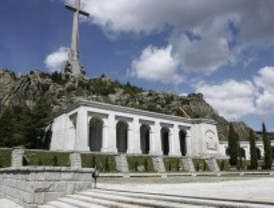 La misa en el Valle de los Caídos concluye
