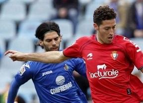 El Getafe se impone en casa al Osasuna