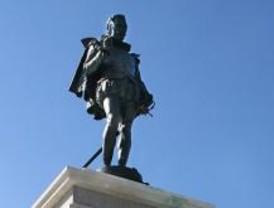 Un homenaje al vecino más ilustre de Alcalá