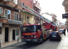 Una mujer sufre quemaduras tras explotar una bombona de butano en su casa