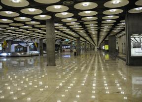 Pasillo de la T4 del Aeropuerto de Barajas