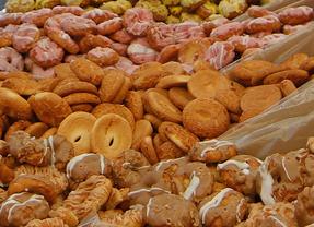 Tapas y degustación de rosquillas en las fiestas del Carmen en Prosperidad