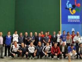 Éxito del campeonato de pelota en Leganés