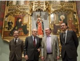 La primera pieza de pintura hispanoflamenca llega al Prado