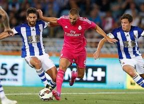 El Real Madrid desperdicia un 0-2 y cae en Anoeta