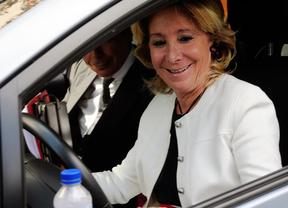 El juez archiva el incidente de tráfico de Esperanza Aguirre