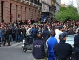 Los trabajadores de seguridad privada se concentran por la ruptura de las negociaciones
