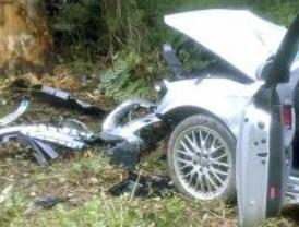 Un fallecido, dos heridos graves y otros dos leves al chocar un turismo en Aranjuez