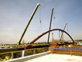 La Comunidad construye el puente más largo de la región en la M-503