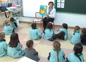Clase de Educación Infantil en el Colegio Montfort