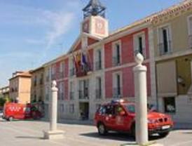 Una mano naranja representará a Madrid 2016 en Aranjuez