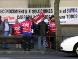 Trabajadores del SUMMA exigen terminar con los agravios comparativos