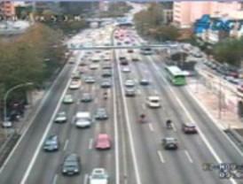 Las incidencias marcan el estado del tráfico