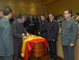El cabo fallecido en Boadilla del Monte recibe la medalla al Mérito Policial