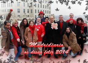 El equipo de Madridiario os desea felices fiestas