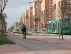 Las obras del carril bici habilitarán un anillo de diez kilómetros en Parla