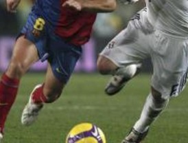 Lluvia sobre Barcelona para recibir el clásico