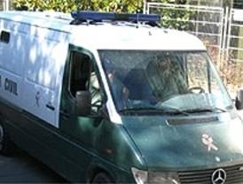 La Guardia Civil evita un atraco con rehén a un furgón de tabaco