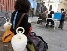 Los votantes en la consulta popular rechazan la privatización del Canal de Isabel II