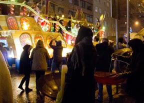 Cabalgata de Reyes en Chamartín.