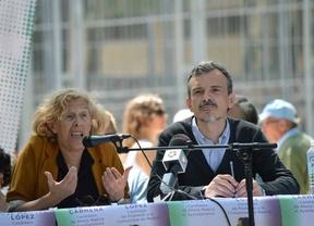 Manuela Carmena y José Manuel López
