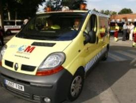 Muere un motorista al salirse de la carretera en Cobeña