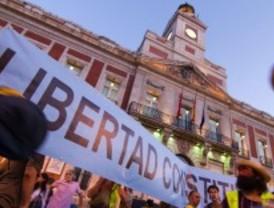 La Puerta del Sol podrá acoger manifestaciones cuando no haya actos de partido
