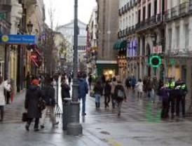 Los peatones toman el centro de Madrid