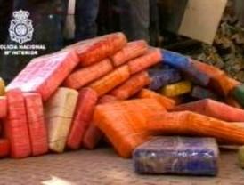 La Policía se incauta 600 kilos de coca