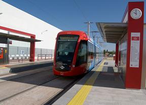 Calma en la tercera jornada de paros en Metro Ligero Oeste